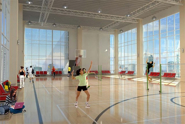 One Uptown Badminton and Basketball Court